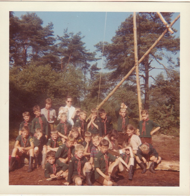 Welpenkamp 1965 Vilsteren Scouting Radboudgroep Santpoort