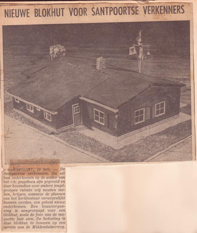 Blokhut Radboud Santpoort bouwaanvraag