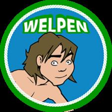 Speltakteken welpen Scouting Radboudgroep Santpoort