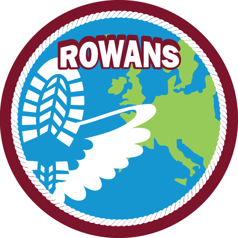 Speltakteken rowans Scouting Radboudgroep Santpoort