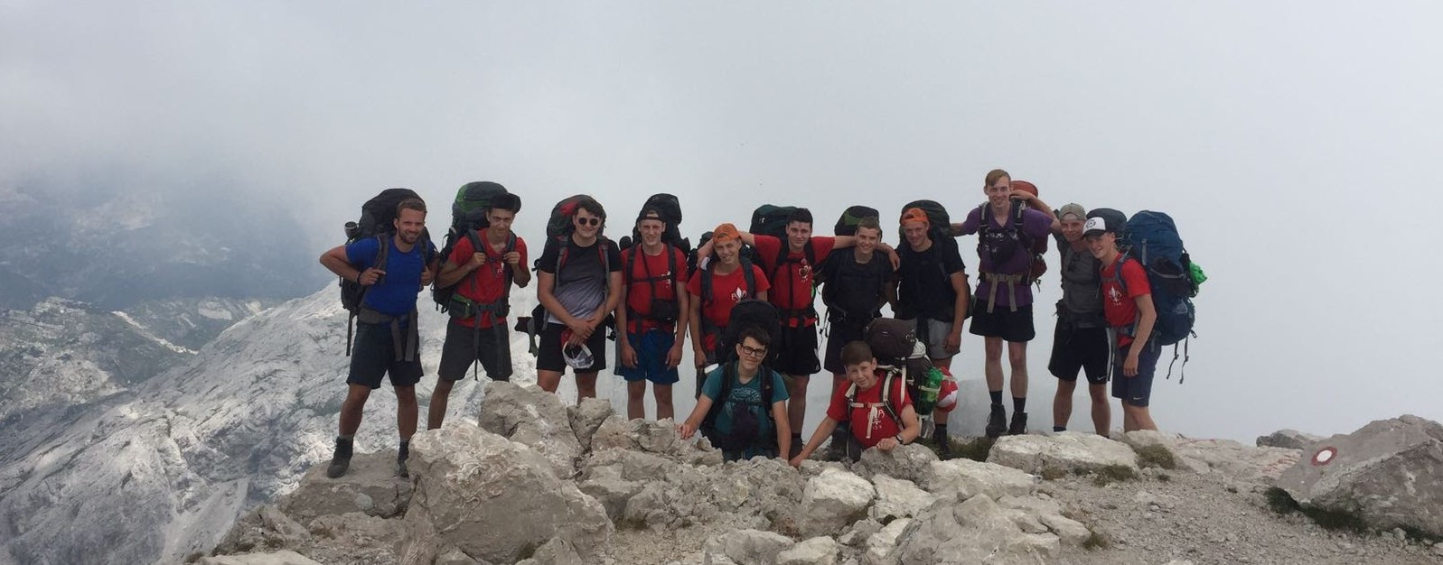 Expeditie rowans backpack Scouting Radboudgroep Santpoort