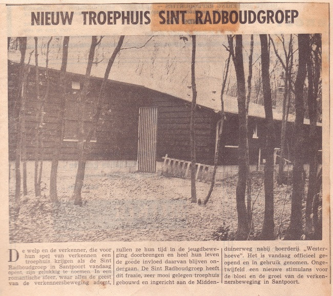 Blokhut Radboudgroep Santpoort-Zuid
