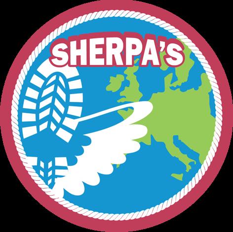 Speltakteken sherpa's Scouting Radboudgroep Santpoort