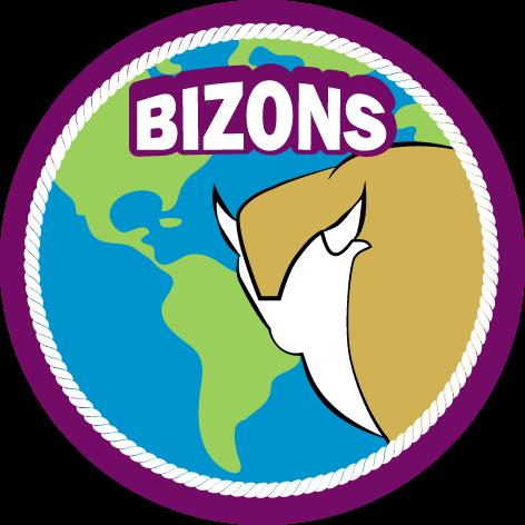 Speltakteken bizons Scouting Radboudgroep Santpoort