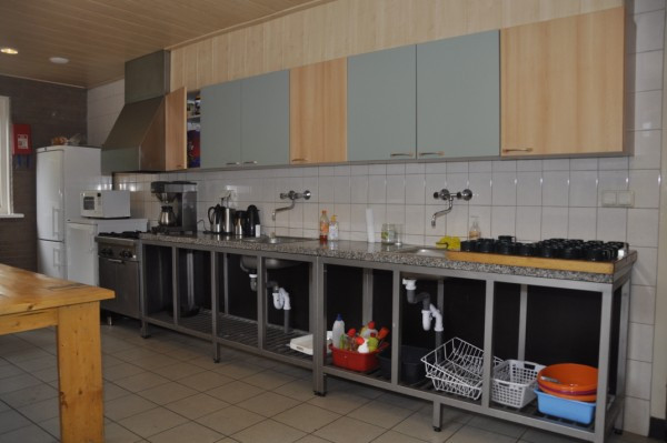 Keuken blokhut Scouting St Radboudgroep Santpoort-Zuid